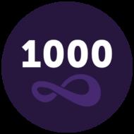 1000v